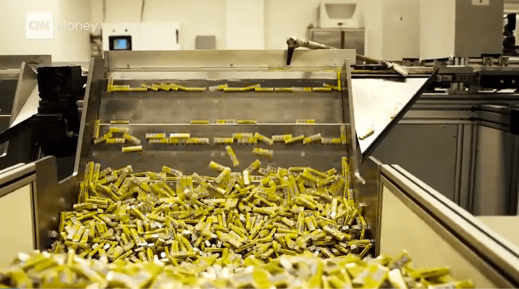 Every piece of Pez is made here