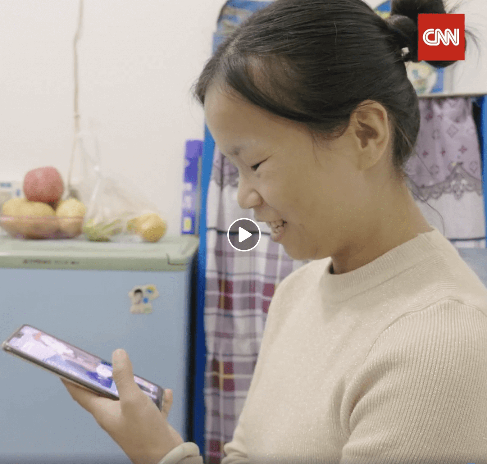 Meet a mother in China who makes millions showing off clothes on a livestream