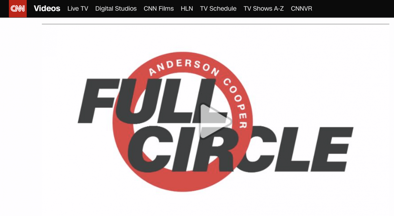 Anderson Cooper Full Circle Promo